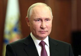 Putin gab eine Erklärung zu Karabach ab