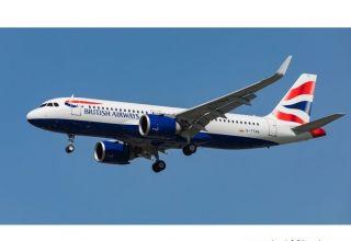 Das Board von British Airways flog nach einer Notlandung in Taschkent ohne Passagiere nach London