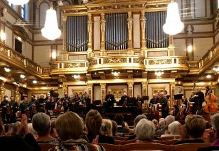 Dirigent aus Aserbaidschan in der Wiener Philharmoniker