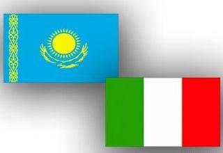 Kasachstan und Italien unterzeichneten einen Plan zur militärischen Zusammenarbeit